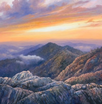 Sundown - Mt LeConte - Product Image